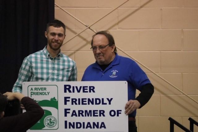 2019 River Friendly Farmer Dale Thomas